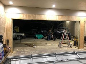 Garage Door Framing Pasadena